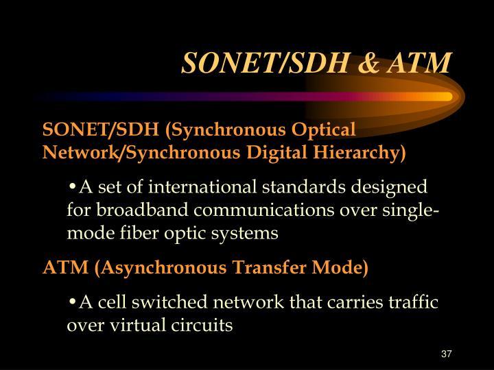 SONET/SDH & ATM