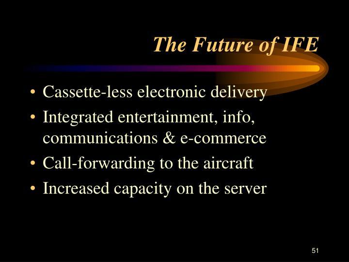 The Future of IFE
