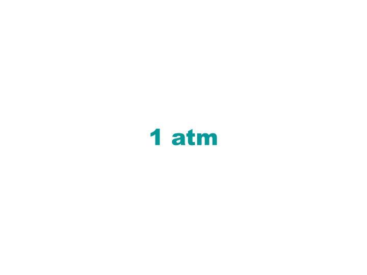 1 atm