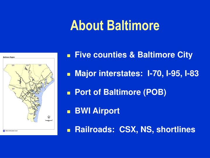 About baltimore