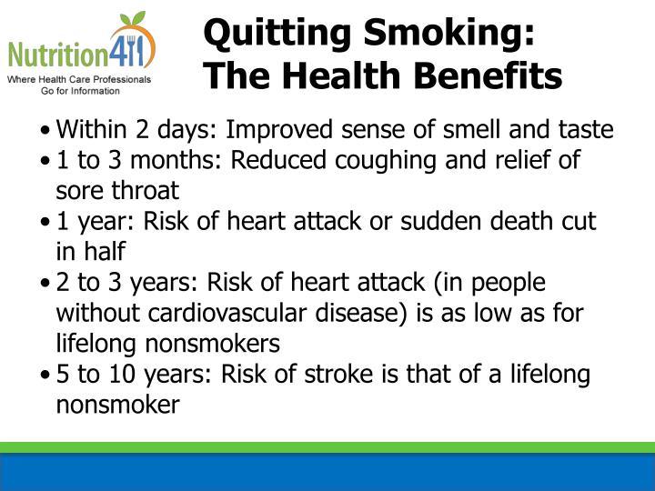 Quitting Smoking: