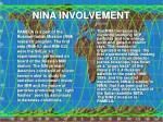 nina involvement