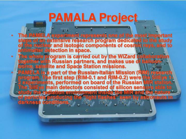 PAMALA Project