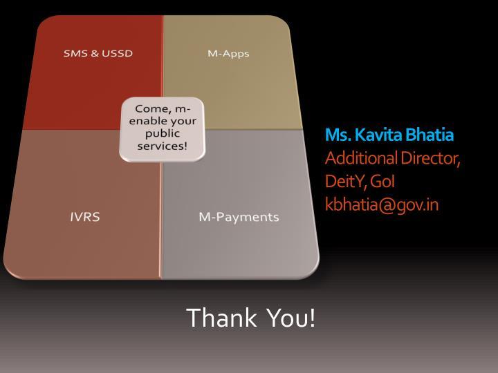 Ms. Kavita Bhatia