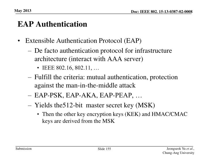 EAP Authentication