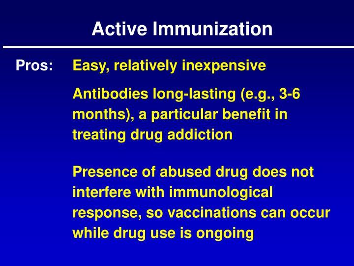 Active Immunization