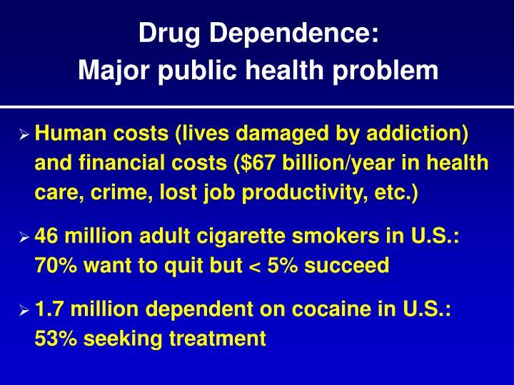 Drug Dependence: