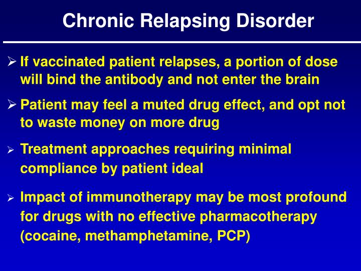 Chronic Relapsing Disorder