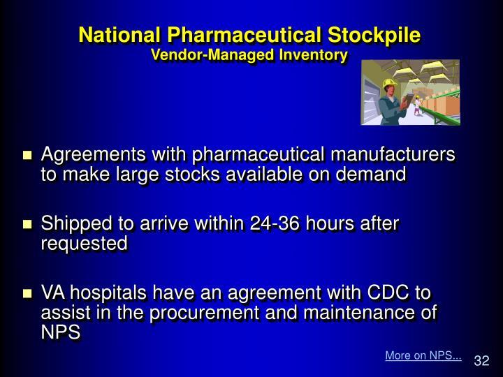 National Pharmaceutical Stockpile