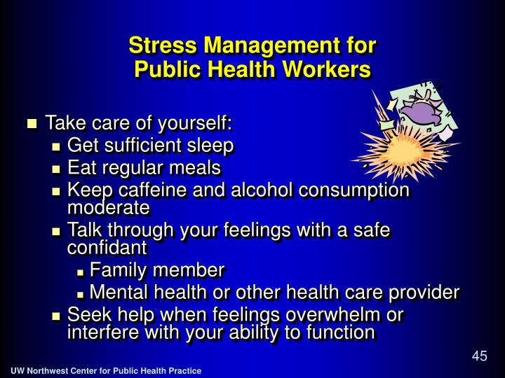 Stress Management for