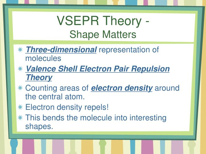 VSEPR Theory -