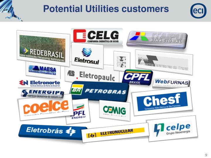 Potential Utilities customers