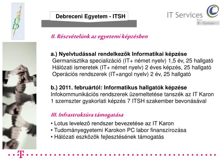 Debreceni Egyetem - ITSH