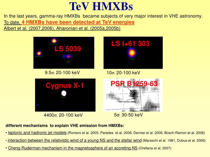 TeV HMXBs