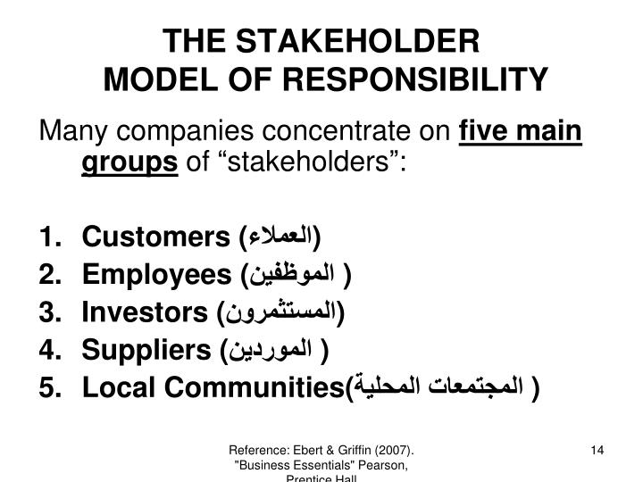 THE STAKEHOLDER