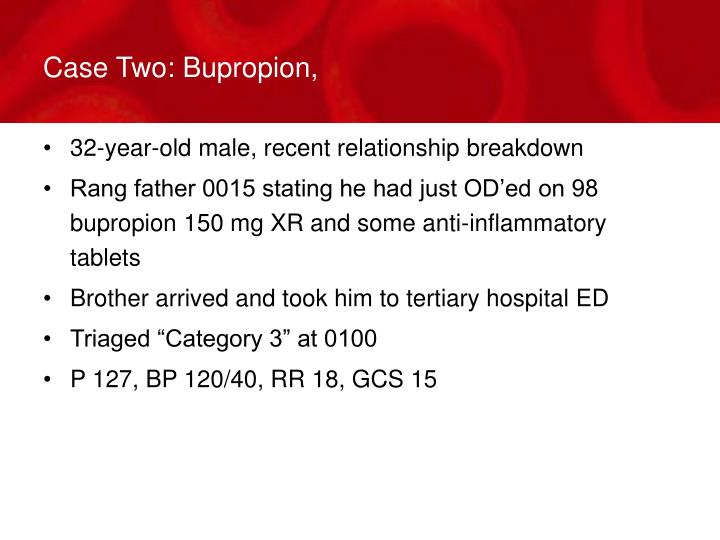 Case Two: Bupropion,