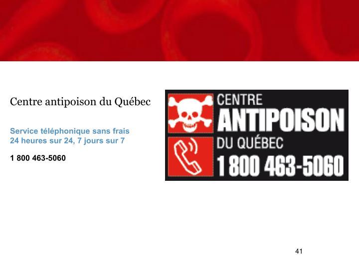 Centre antipoison du Québec