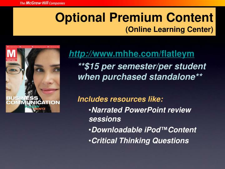 Optional Premium Content