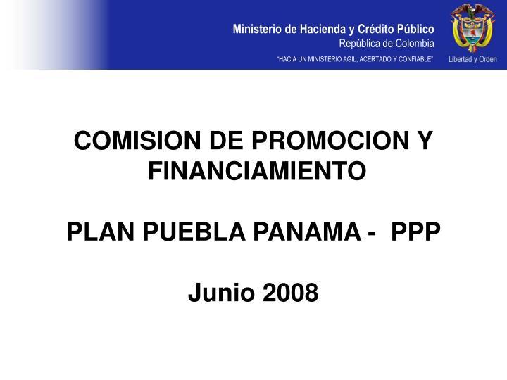 COMISION DE PROMOCION Y