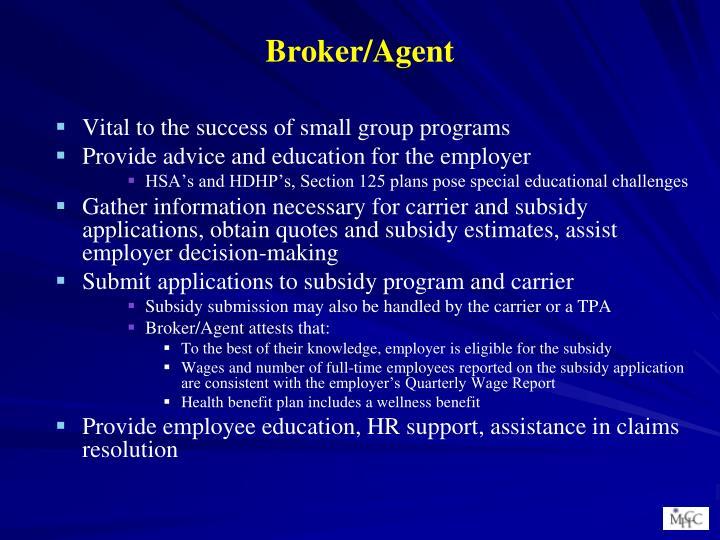 Broker/Agent