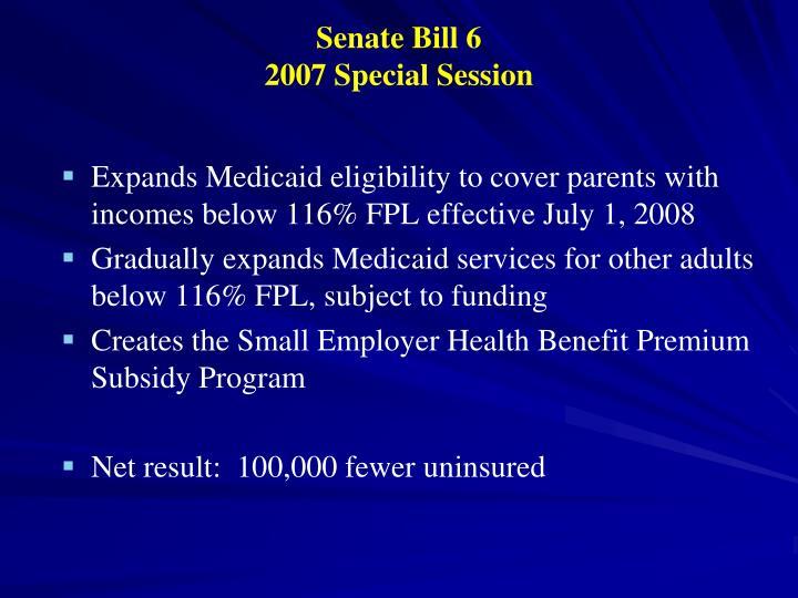 Senate Bill 6