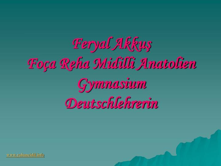 Feryal Akkuş