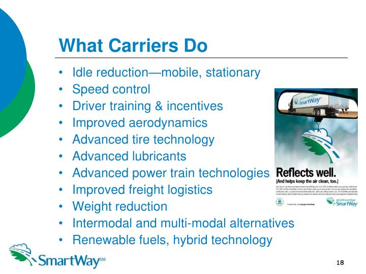 What Carriers Do