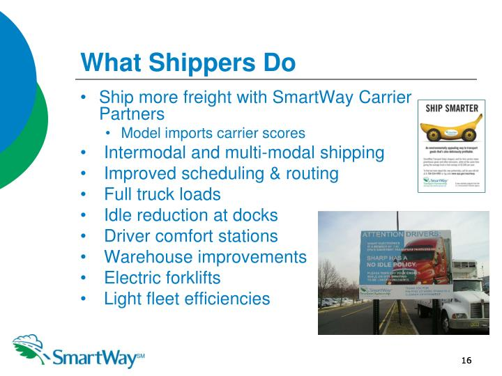 What Shippers Do