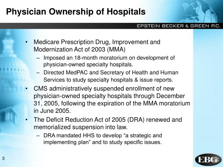 Physician Ownership of Hospitals