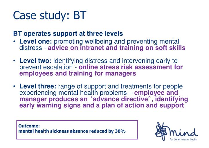 BT operates support at three levels