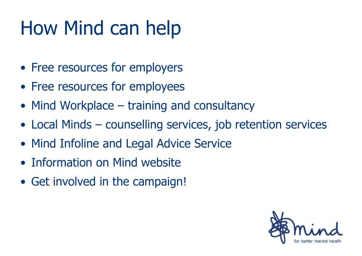 How Mind can help