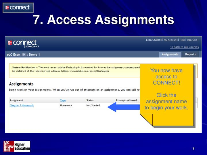7. Access Assignments