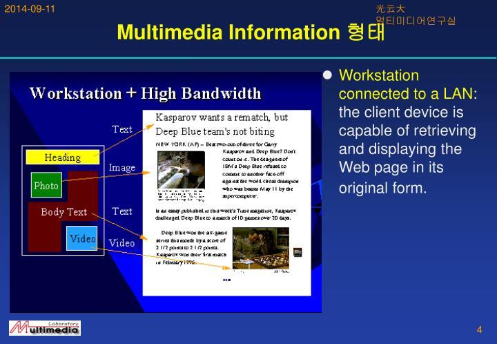 Multimedia Information