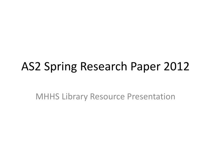 Effects of Smoking Research Paper