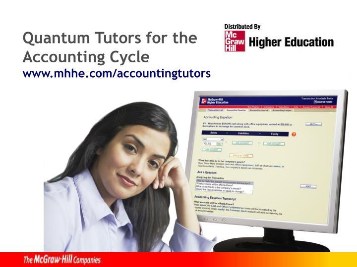 Quantum Tutors for the