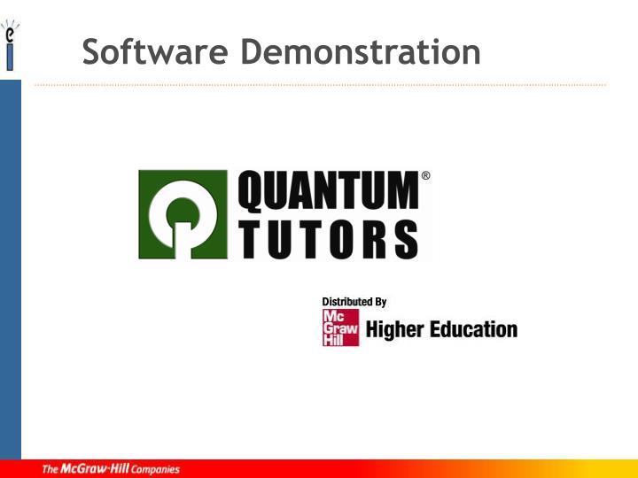 Software Demonstration