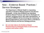 new evidence based practices service strategies1