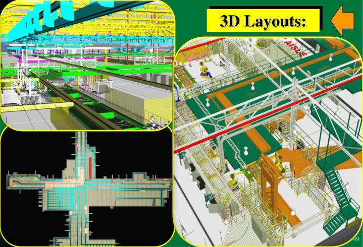 3D Layouts: