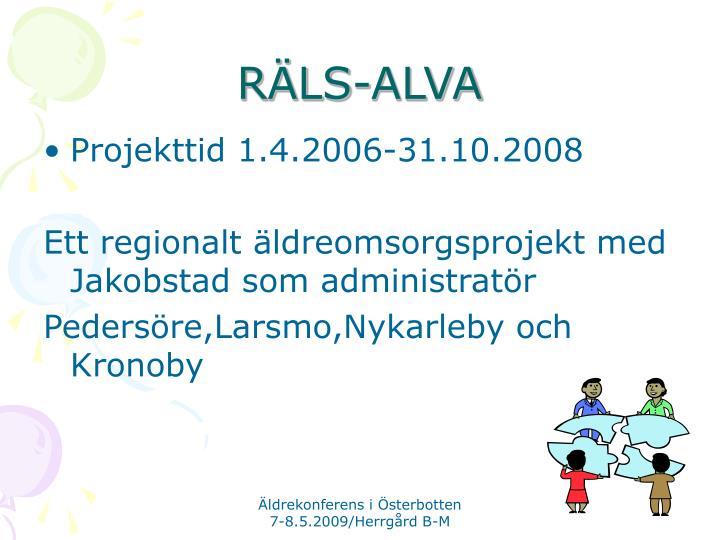 RÄLS-ALVA