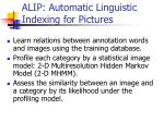 alip automatic linguistic indexing for pictures