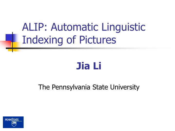 Alip automatic linguistic indexing of pictures