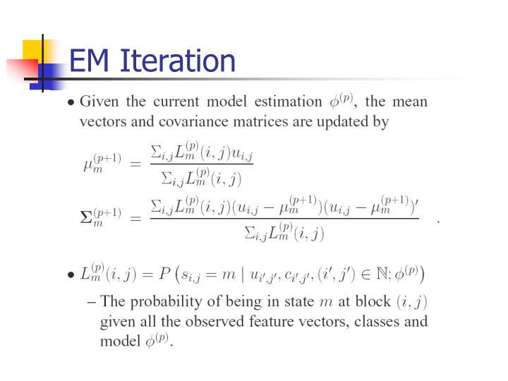 EM Iteration