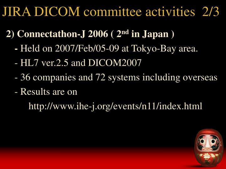 JIRA DICOM committee activities  2/3