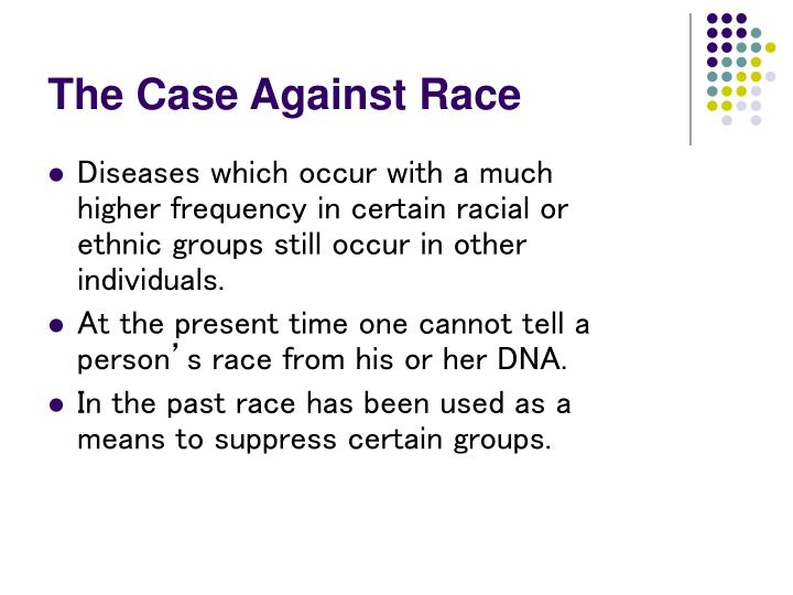 The Case Against Race