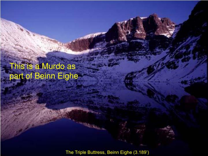 This is a Murdo as part of Beinn Eighe