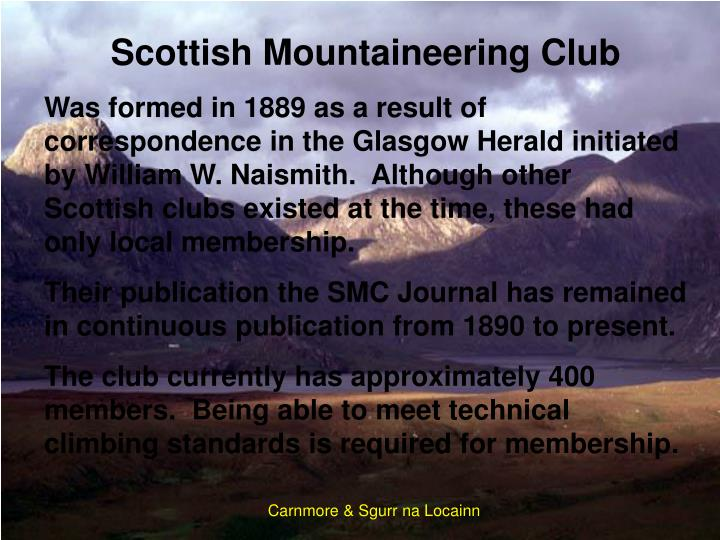 Scottish Mountaineering Club