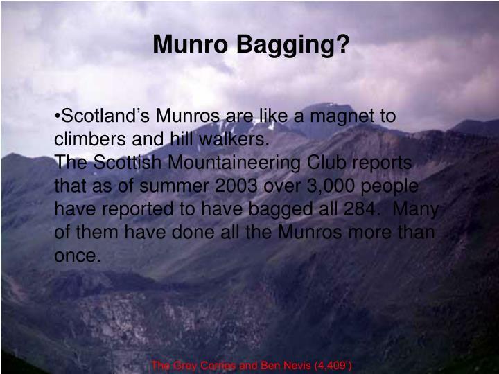 Munro Bagging?