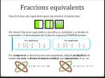 fraccions equivalents
