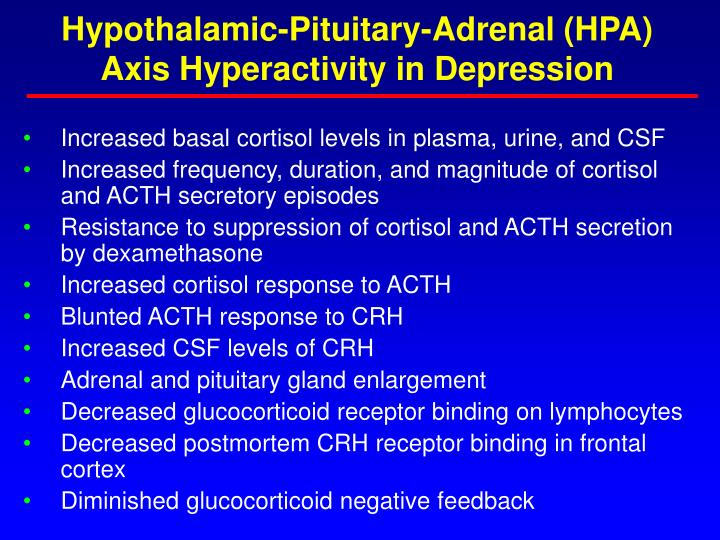 Hypothalamic-Pituitary-Adrenal (HPA)