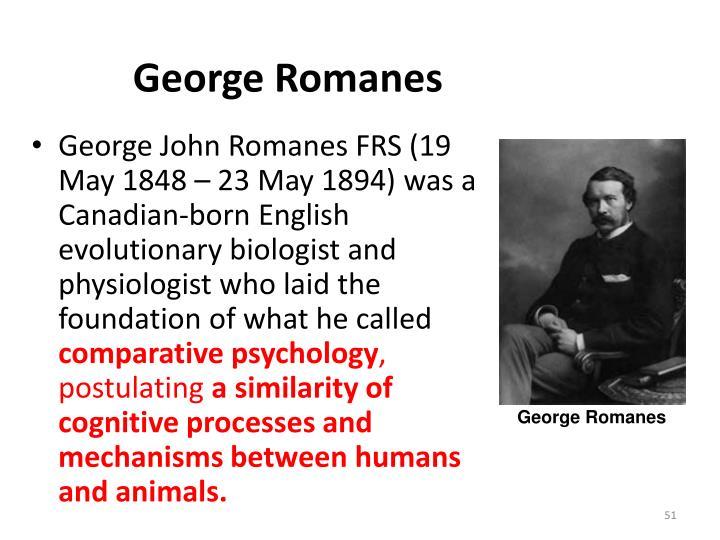 George Romanes